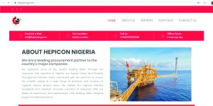 Website design, Lagos